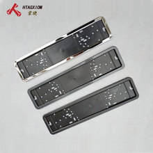1 Pcs Auto Nummerplaat Frame Metalen En Plastic Frame Auto Kentekenplaathouder Nummer Plaat Houder Fit Eu