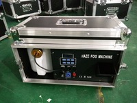 china supplier smoke machine special effect haze machine 1500W with flight case dmx512 for led light