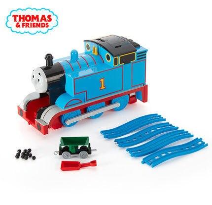 Original grand multi-fonction la Station orbitale costume moulé sous pression électrique Locomotive garçons anniversaire cadeau jouets