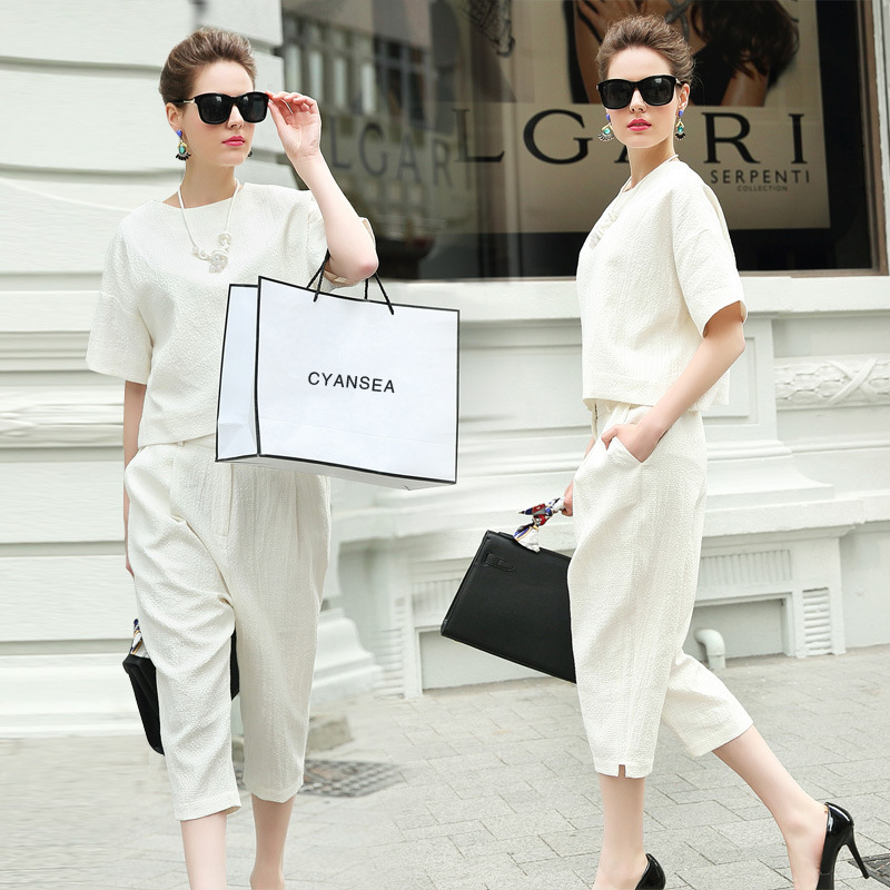 Popular White Pants Suit Women-Buy Cheap White Pants Suit Women ...