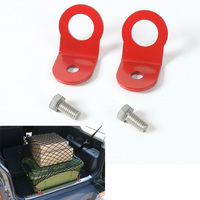 Sosung Fit For 2007 2015 Suzuki Jimny Car Trunk Luggage Net Hook Trim Styling Red Steel