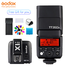 Godox TT350 Mini TT350N Speedlite flash TTL 2.4G+X1T-N Transmitter Wireless Flash Trigge for nikon Camera D800 d700 D7100 D700 цена