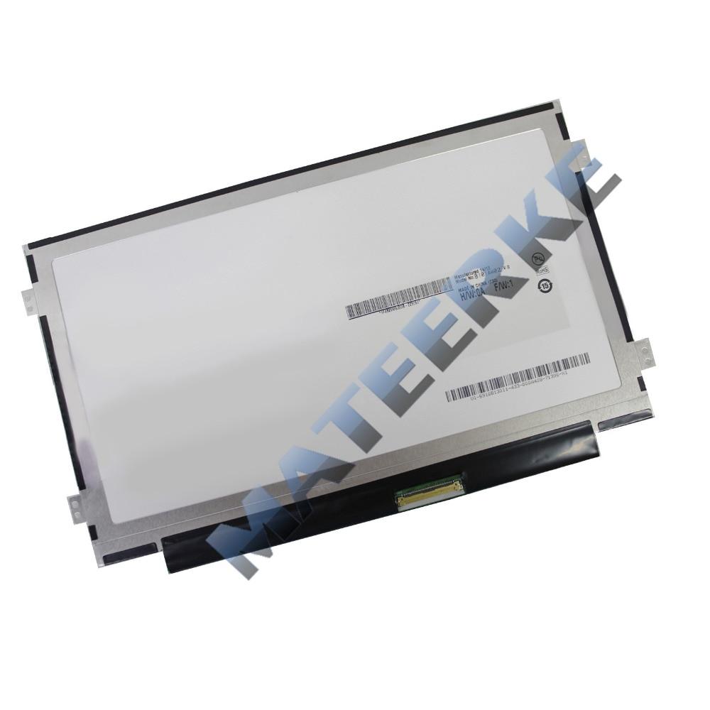 NEW 10.1 WSVGA Ultra Thin/Slim LED LCD Screen Replacement Display N101L6-L0D C1 / LTN101NT08 Glossy