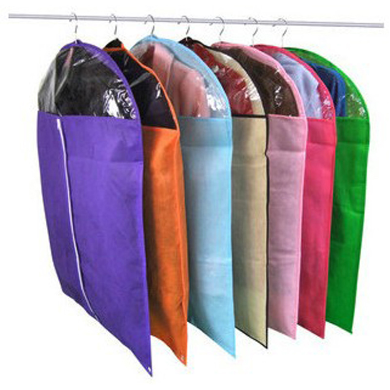 Household Non Woven Fabric Dustproof Cover Clothes Garment Suit Storage Bag Free Shipping In Bags From Home Garden On Aliexpress