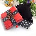 Eco789 @ HOT! прочный Настоящего Подарочные Коробки Чехол Для Браслет Ювелирные Изделия Часы Box Оптовая Бесплатная Доставка