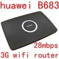 Разблокирована Huawei B683 3G 21 мбит wi-fi маршрутизатор 3 г wi-fi dongle WCDMA HSUPA UMTS 900/2100 МГц cpe маршрутизатор автомобиля pk e5172 b593 b970 b681