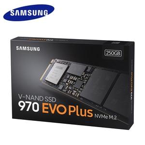 Image 4 - Samsung 970 EVO PLUS 250GB 500GB 1TB NVMe SSD M.2 2280  Internal  Solid State Hard Disk  SSD PCIe 3.0 x4, NVMe 1.3 Notebook