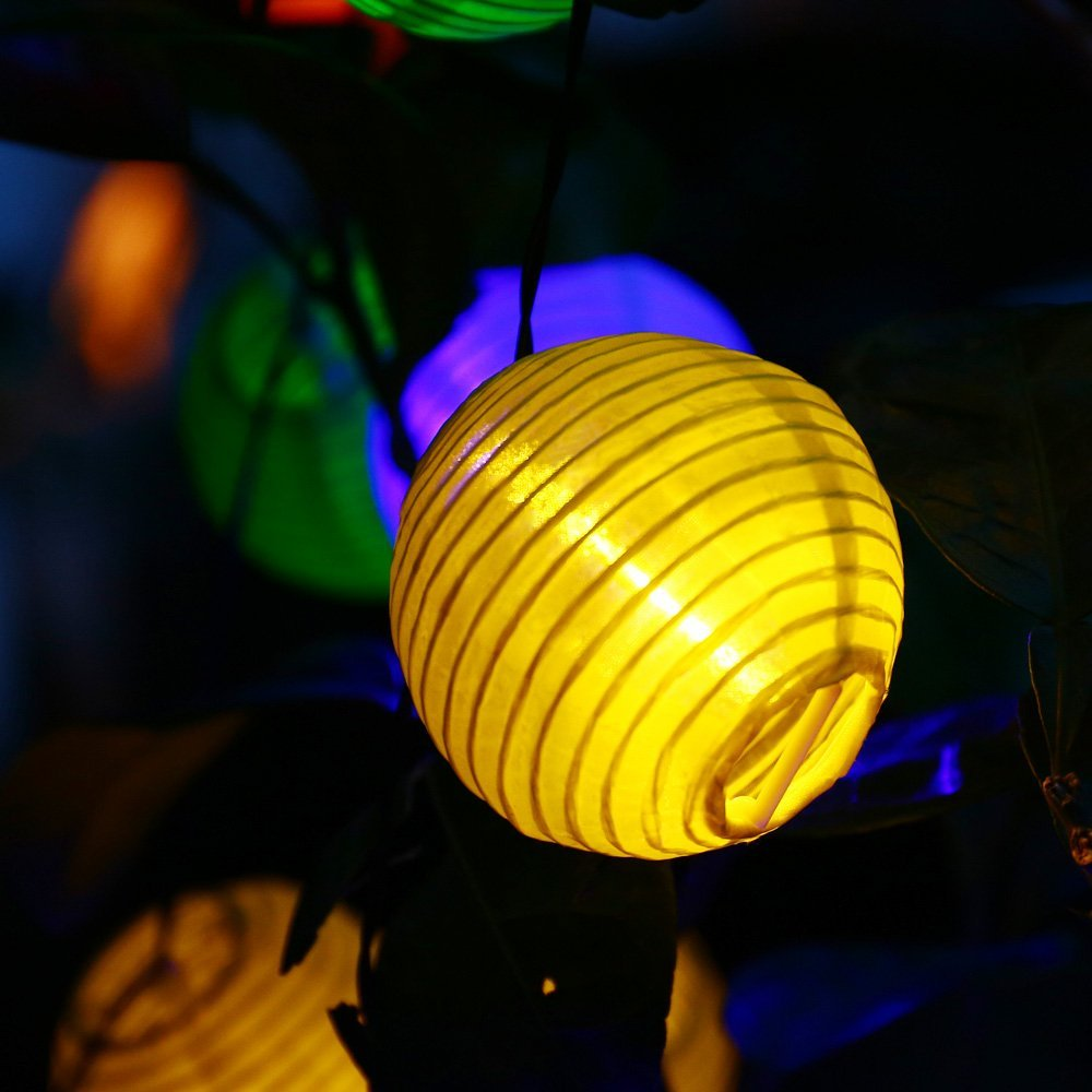 Holigoo 30 led lantern ball solar string lights outdoor lighting holigoo 30 led lantern ball solar string lights outdoor lighting solar lamp fairy globe christmas decorative light for party in lighting strings from lights aloadofball Image collections