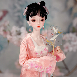 Image 5 - DBS 1/3 BJD Joint Body 62CM with outfit shoes and Gift box combination Set gift toys sd high quality doll Chinese Zodiac Series