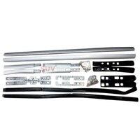 For Nissan Qashqai 2015 2016 Aluminum Luggage Carrier Bar Roof Rails Rack Bars Exterior Car Parts