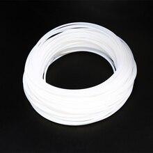 Anet a6 a8 2*4 MM PTFE Teflon Uzun Mesafe Besleme tüp için 1.75mm Filament ender 3 CR-10 repRap Mendel hotend 3D Yazıcı Parçalar...