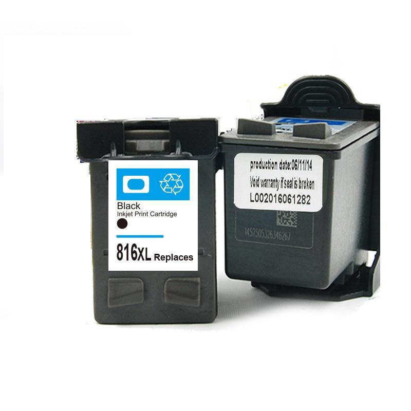 где купить  Black Ink cartriddge for HP 816 xl for HP 3938 3538 3668 3848 F2238 F378 F388 F2188 F4188 D1368 D1558 D2368 printer  по лучшей цене