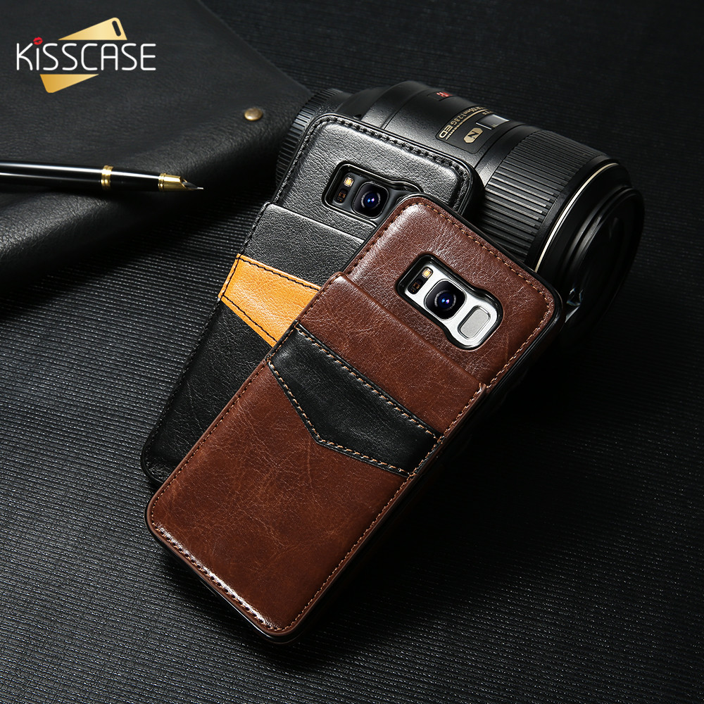 KISSCASE <font><b>Flip</b></font> Leather Case For <font><b>Samsung</b></font> Galaxy Note 10 Plus Note 9 S9 S8 Plus wallet case For <font><b>Samsung</b></font> <font><b>S10</b></font> S6 S7 Edge <font><b>Flip</b></font> <font><b>Cover</b></font> image