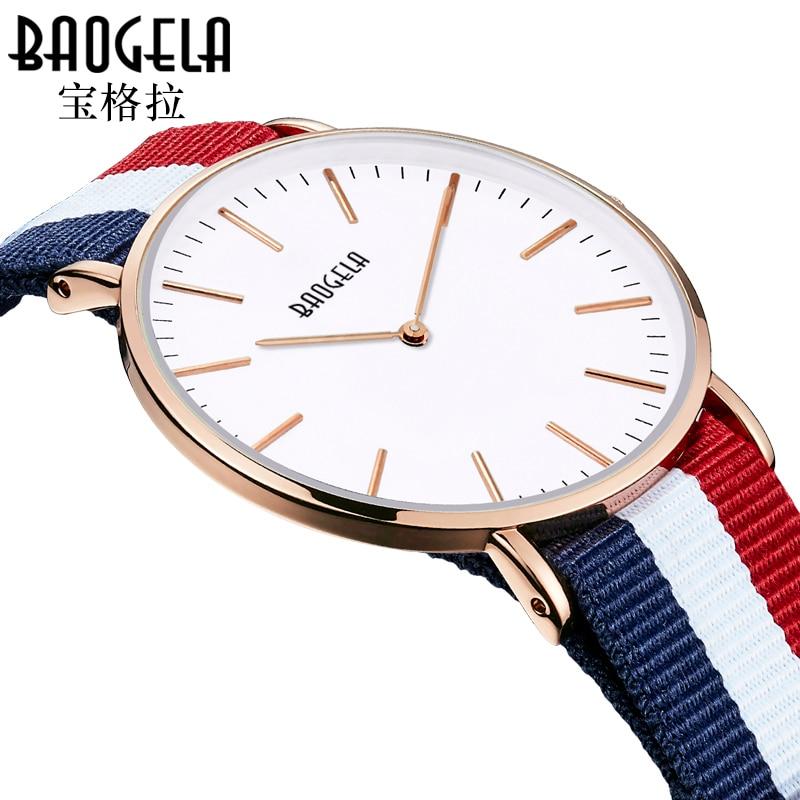 Top Brand Luxury Quartz Watch Casual Men Canvas Belt Quartz-watch Women's Watch Rose Gold Ultra Thin Clock Male  Relojes luxury aluminum watch