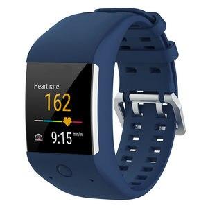 Image 3 - Силиконовый спортивный Браслет ремешок Замена для Полар флиса M600 GPS умные спортивные часы новейшие Смарт часы браслет ремешок
