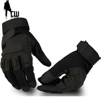 Hot Sale Man Tactical Gloves Polyester Fiber Protect Outdoor Gloves Mountaineering Wear Non Slip Mittens Warm