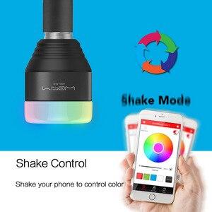 Image 5 - MIPOW Playbulb LED E26/E27 Bluetooth スマート電球魔法のランプ調光対応ウェイクアップライト Bluetooth App コントロール RGB マルチ色