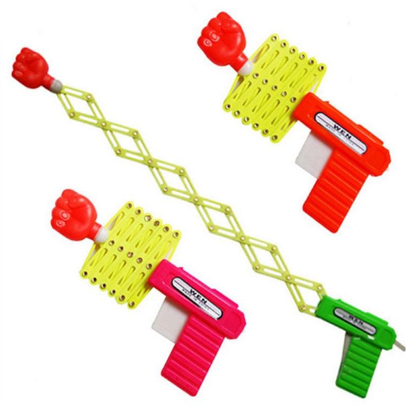 Classic Children's Toys Magic Telescopic Fist Funny Entire Toy Gun