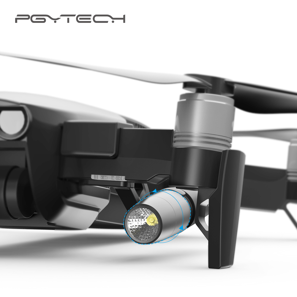 PGYTECH Mavic Air Led lamp light Without battery fill-in light searching guide Light in night for DJI mavic air accessories