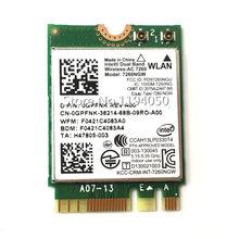 Intel 7260ngw intel banda dupla sem fio-ac 7260 7260ngw AC-7260 802.11ac, banda dupla, 2x2 wi-fi + bluetooth 4.0 intel 7260 ac