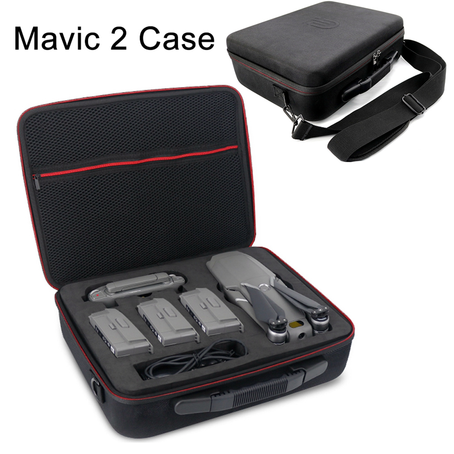 DJI Mavic 2 Drone Shoulder Bag Travel Portable Storage Box Suitcase Carrying Case for MAVIC 2 Pro Zoom Battery Controller Parts