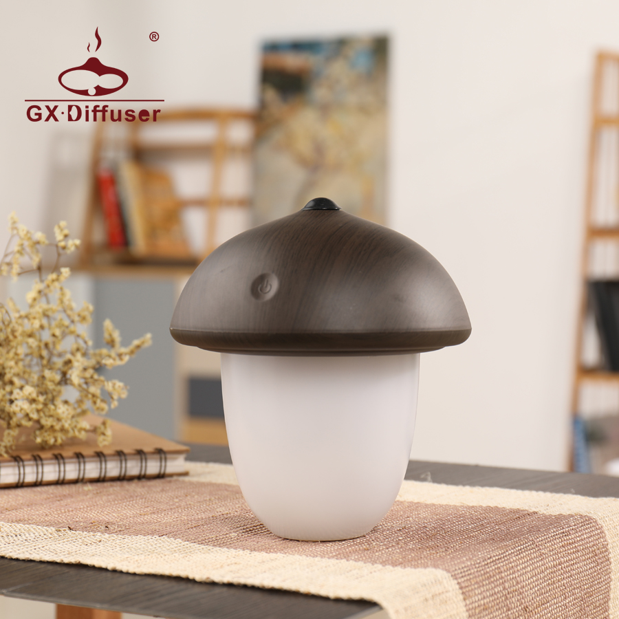 LED Night Light for Home Kids Mushroom Cute Creative Sleeping Nightlight Desk Lamp Decoration Mini Warm For Bedroom - 1