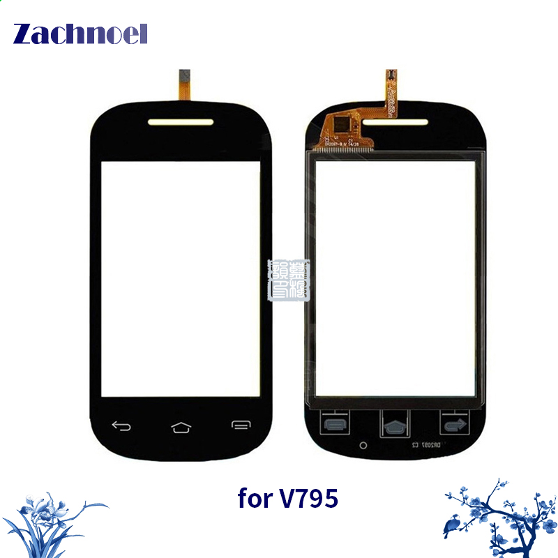 Hot Selling Touch Panel Sensor For ZTE V795 Mobile Phone Touch Screen Digitizer Touchscreen Glass Parts Free Shipping