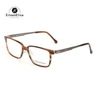EE Vintage Fashion Eye Glasses Frame For Men Oculos Masculino Optical Acetate Glasses Frame Vintage Fashion
