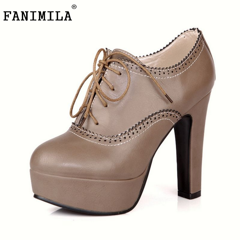 plus big size 34-47 women stiletto high heel shoes sexy lady platform spring fashion heeled pumps heels shoes P16740
