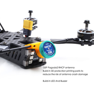 Image 3 - GEPRC GEP KHX5 Elegant 230mm RC FPV Racing Drone With F4 5.8G 48CH 40A BLHeli_S Dshot600 RC Racer Quadcopter PNP BNF