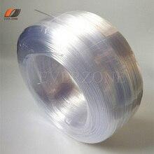 Cable de iluminación de fibra óptica PMMA de punta lateral, 3x0,75mm, multifilamento, 450m/rollo