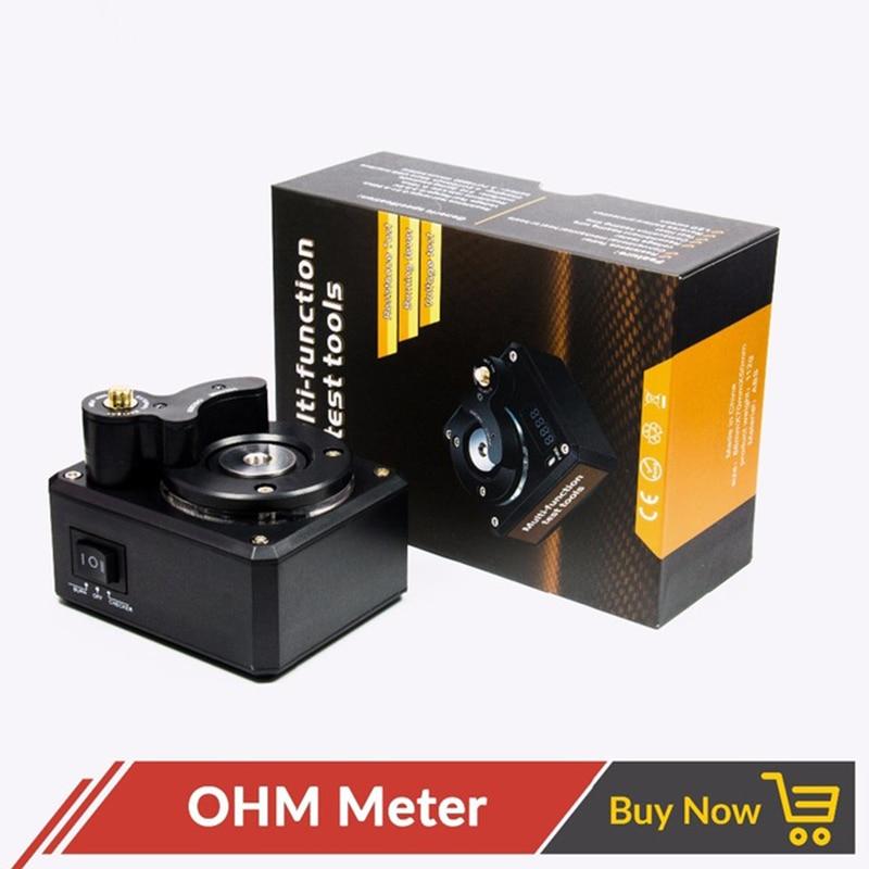 Volcanee Multi Function OHM Meter Resistance ohm reader Burning Fever Voltage Tester E Cigarette RDA Heating Coil Wire DIY