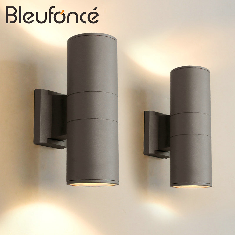 Outdoor Waterproof Wall Lamp Garden Porch Lights E27 220V Home Decoration Lighting Wall Sconce Aluminum Wall Lights Lamp BL74 outdoor waterproof wall lamp indoor wall light led wall sconce porch garden lights decoration 10w led wall lamp 110v 220v bl56