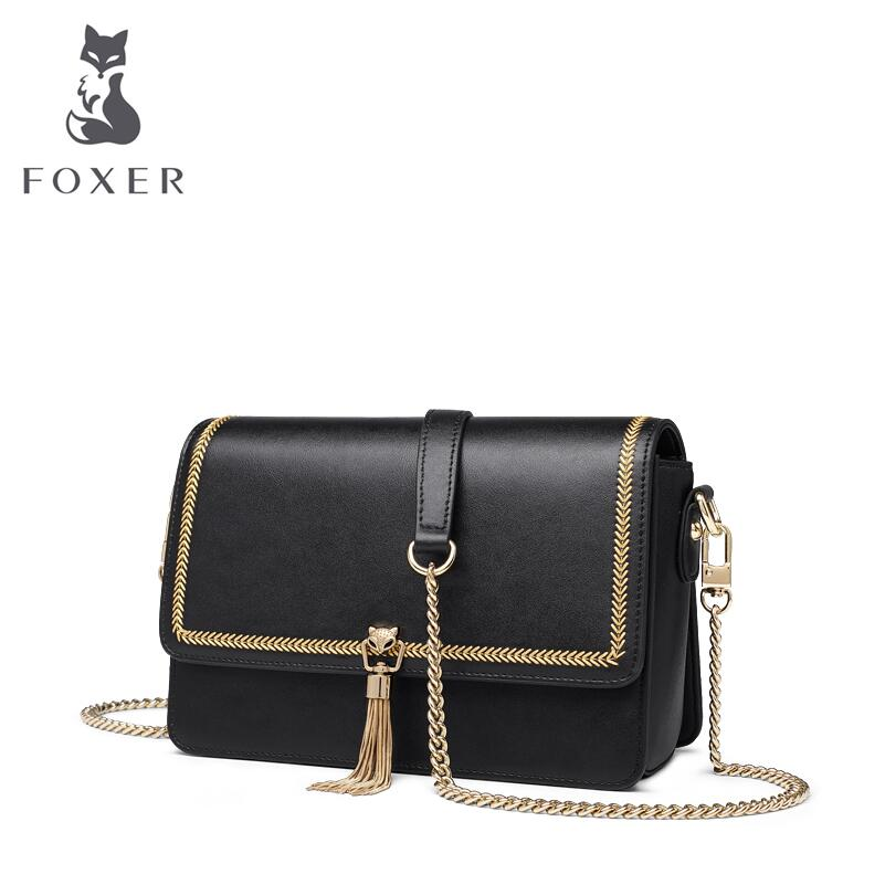 FOXER bag for women 2019 new women Cowhide fashion leather handbags women luxury designer women leather Shoulder Messenger bagsFOXER bag for women 2019 new women Cowhide fashion leather handbags women luxury designer women leather Shoulder Messenger bags