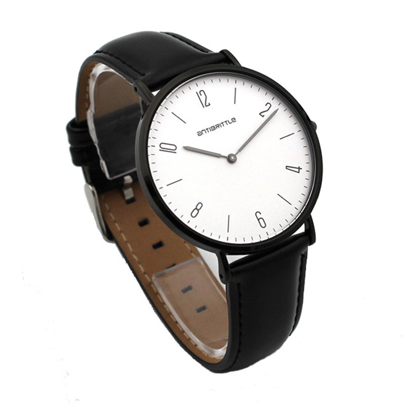 Japan Quartz Black Luxury Watch Women Men Super Thin Leather Mesh Stainless Steel Magnet Strap Wristwatch Waterproof AntibrittleJapan Quartz Black Luxury Watch Women Men Super Thin Leather Mesh Stainless Steel Magnet Strap Wristwatch Waterproof Antibrittle