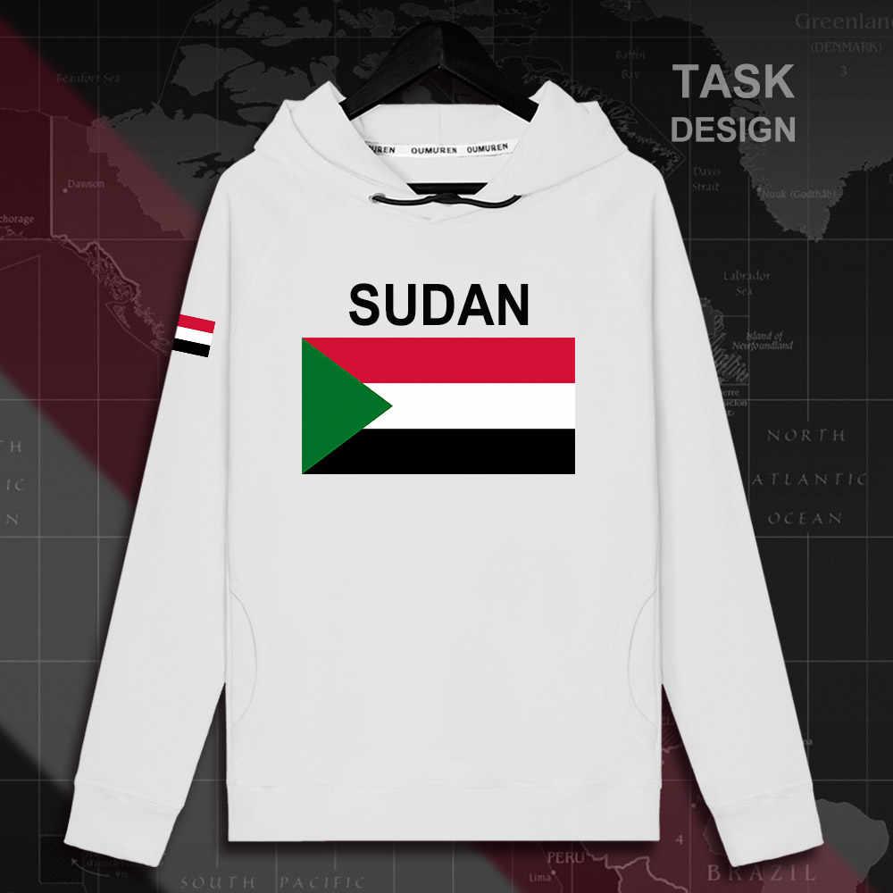צפון סודן סודאני SDN האיסלאם mens קפוצ 'ון סוודרי נים גברים סווטשירט בגדי streetwear היפ הופ אימונית האומה דגל 02