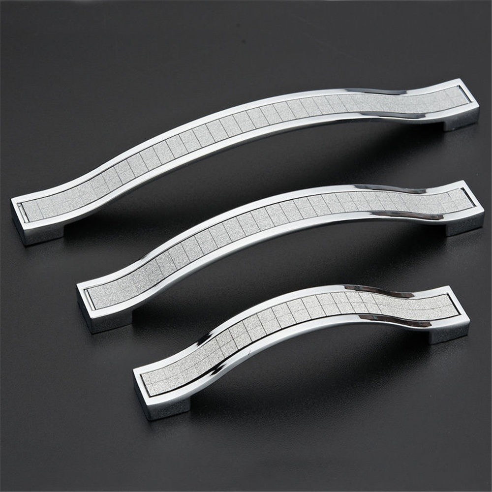 1Pc New Modern Diamond Crystal Pull Handle Knob Drawer Cabinet Cupboard Pull Furniture Hardware Handle Door Pull 1 pair 4 inch stainless steel door hinges wood doors cabinet drawer box interior hinge furniture hardware accessories m25