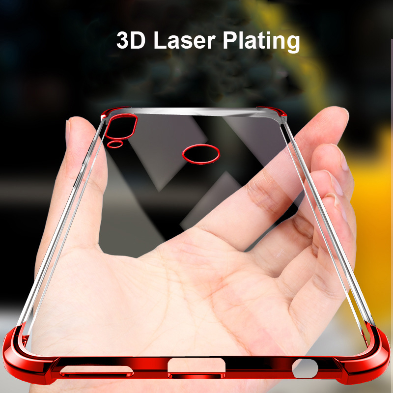competitive price fb504 24555 US $2.81 5% OFF|Honor 8X 3D Laser Elec plating Airbag Case for Huawei Honor  8X Max Case Anti shock Transparent for Huawei Honor 8X Cover Bumper-in ...
