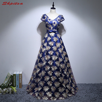 Royal Blue Long Evening Dresses Party on Sale A Line Women Prom Formal Evening Gowns Dresses robe de soiree longue