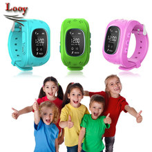 Smartwatch Kid Safe GPS Watch Wristwatch SOS Call Location Finder Locator Tracker for Kid Child Anti Lost Monitor Baby Q50 Q90(Hong Kong,China)