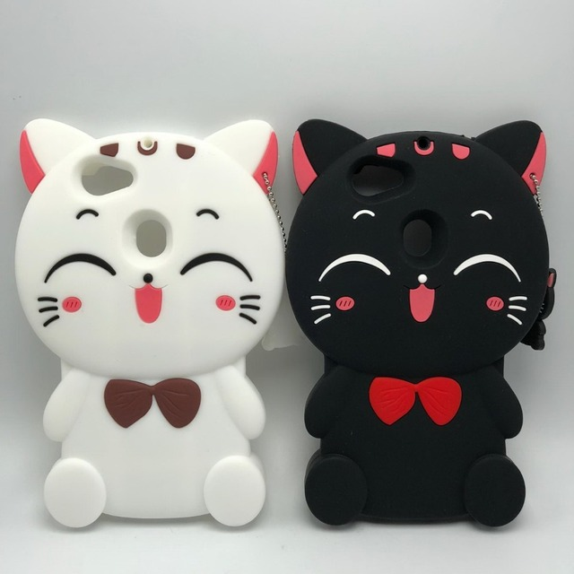 new arrival d48e8 042f7 US $3.5 10% OFF|Aliexpress.com : Buy For OPPO F5 3D Silicon Lucky Cat  Cartoon Soft Cell Phone Case Cover for Oppo f5 6.0 inch from Reliable case  cover ...