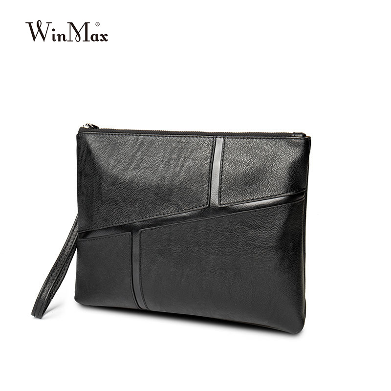 Winmax genuine leather men cultch protable genuine leather purse bag famous brand designer male wallets carteira masculina pouch sale carteira feminina genuine leather bag brand wallet men kangaroo design genuine leather wallets mens carteira masculina