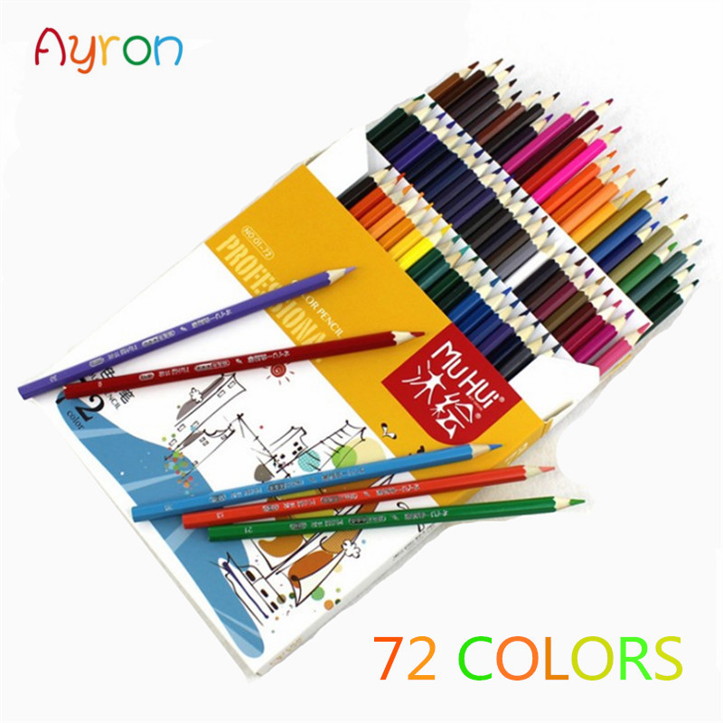 Best Quality 72 colors  Fine Art Drawing Oil Base Non-toxic Pencils Set For Artist Sketch Office School Penci  free ShippingBest Quality 72 colors  Fine Art Drawing Oil Base Non-toxic Pencils Set For Artist Sketch Office School Penci  free Shipping