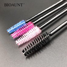 BIOAUNT 1pc Discounted Eyelash Brush Mascara Wands Disposable Lash Makeup Brushes Professional Lashes Extension for Beauty Girls