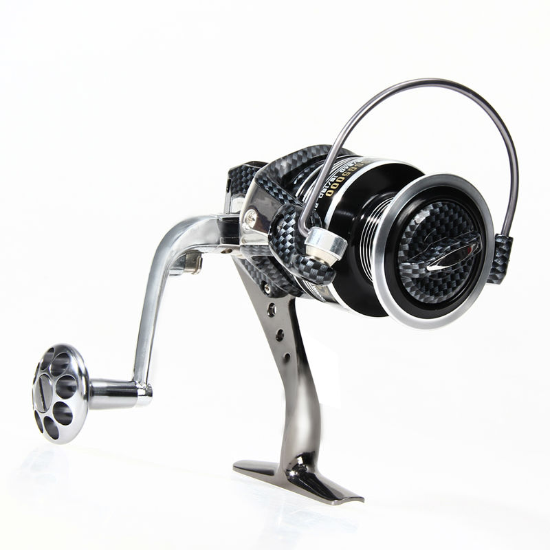 High quality fishing reels 12+1BB Full Metal for fish feeder baitcasting reel spinning reels for rod