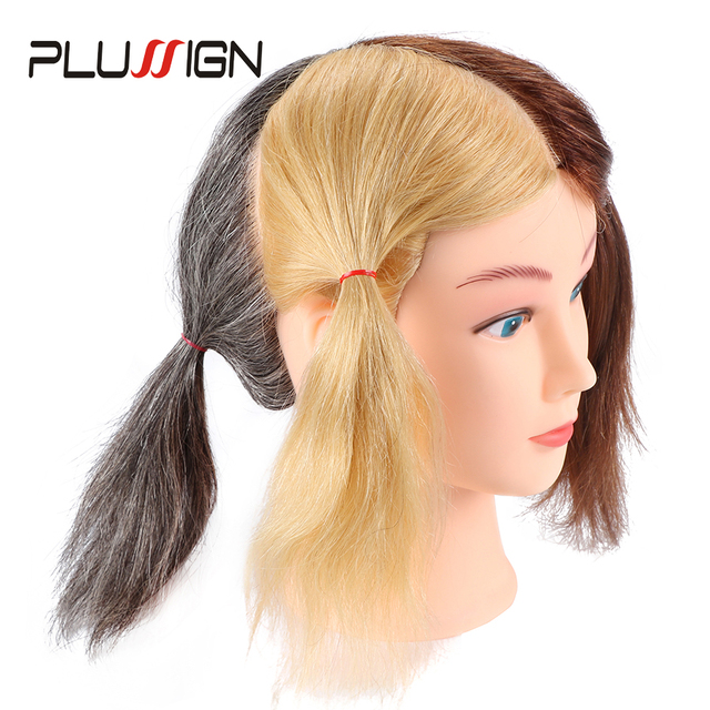 4 Color Manequin Head For Practice Dye And Bleach Hair Braiding