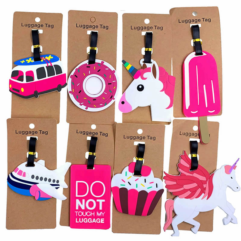 XZHJT Travel Accessories Luggage Tag Animal