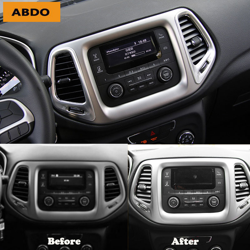 Jeep Compass Used Car: Car Interior Decoration Accessories Trim Cover Sticker For