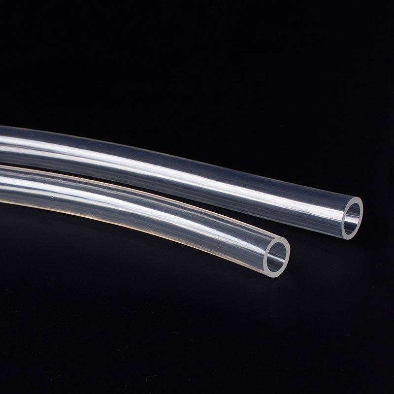 Прозрачные Пластиковые Сантехнические шланги 1 м, гибкая трубка для водяного насоса 2 3 4 5 6 8 10 мм, Масляный шланг с внутренним диаметром
