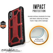 R-Just Monarch Feather-Light Rugged Case for iPhone X/Xs